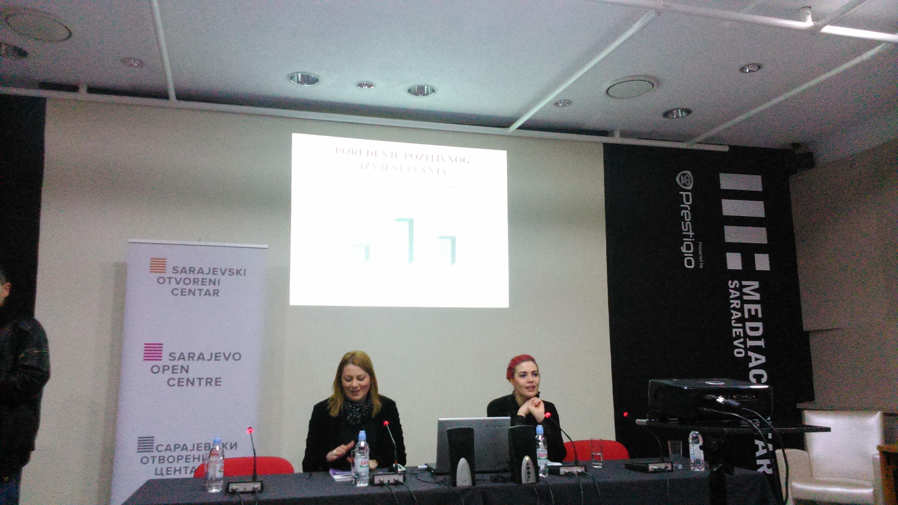 Kristina Ljevak i Masha Durkalić (Foto: Emina Bošnjak)