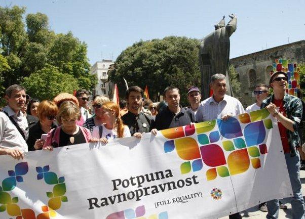 Split Pride 2013 Foto: Depo.ba
