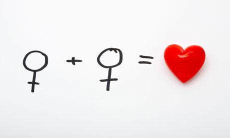 Equation of lesbian love