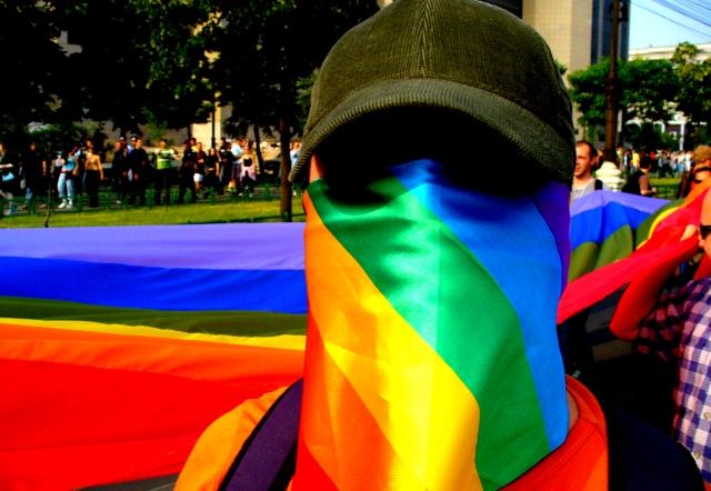 GayFest_Bucharest_2006_activist