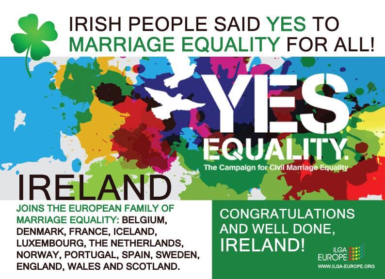 ilga europe ireland marriage