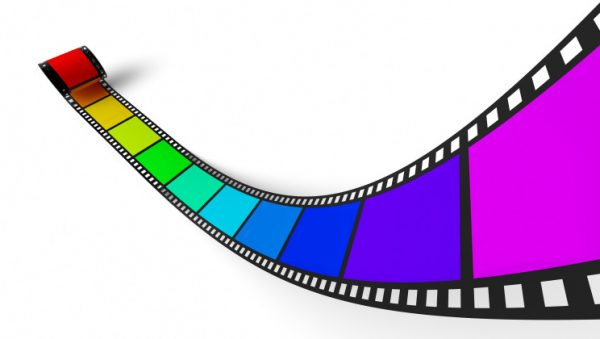 3D Regenbogen Filmstreifen 1
